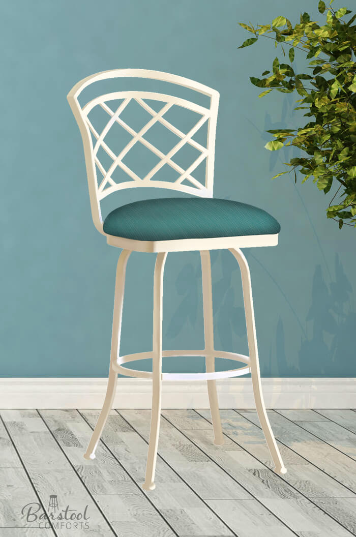 Buy Callee S Baldwin Swivel Stool W Lattice Style Back