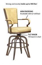 #2545 Tilt Swivel Barstool Benefits