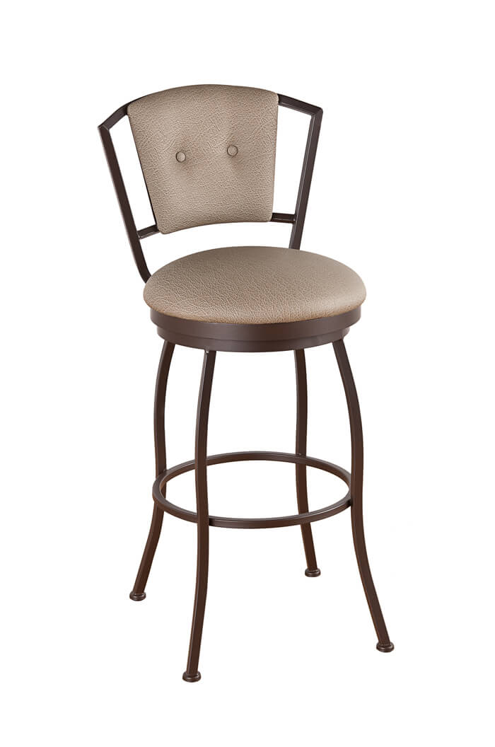 Buy Callee S Bristol Swivel Stool W Upholstered Back