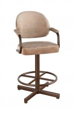 Callee Daytona Swivel Stool with Arms and Deep Seat