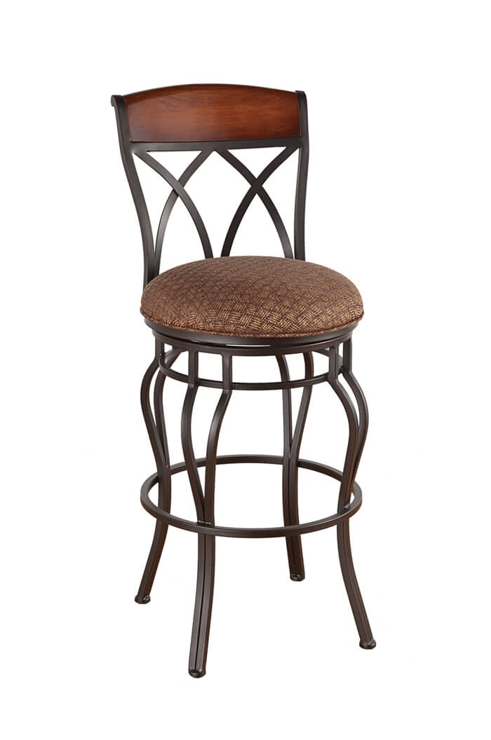 Callee Hayward Swivel Stool Tuscan Style Kitchens Free