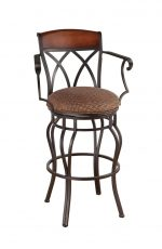 Callee Hayward Swivel Stool with Arms