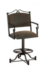 Callee Seattle Swivel Stool for Traditional Kitchens