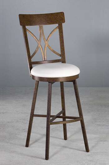 cross back bar stools