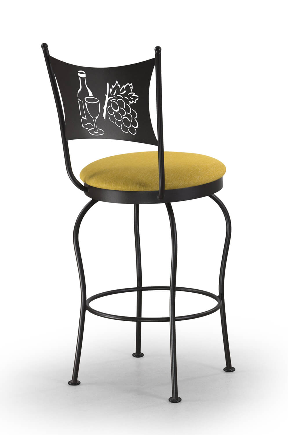 Trica Art Collection Swivel Stool W Cat Football Or