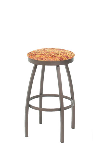 Trica Henry Backless Swivel Stool Minimalist Free