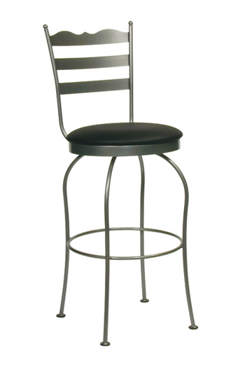 Trica S Latte Swivel Counter Or Bar Stool For Cottage