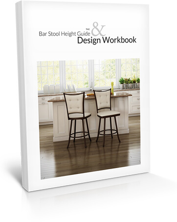 The Bar Stool Height Guide & Design Workbook cover