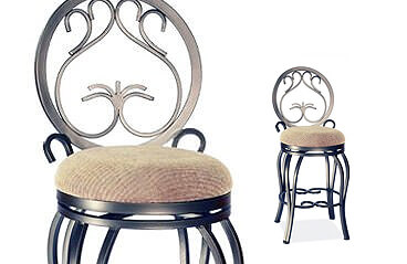 French country design bar stools
