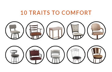 10 Traits to a Comfortable Bar Stool