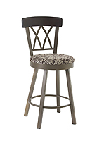 Comfortable bar stool with padded seat