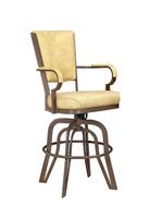 Comfortable deep seated bar stool