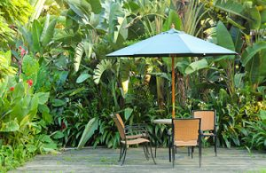 Keep your outdoor space cool
