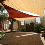Shades spots with shade sails
