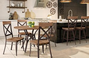 Bar Stools and Chairs in Kitchens