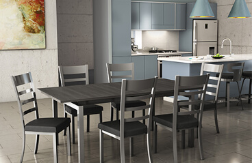 Mixing & Matching Styles of Stools and Chairs in Your Kitchen