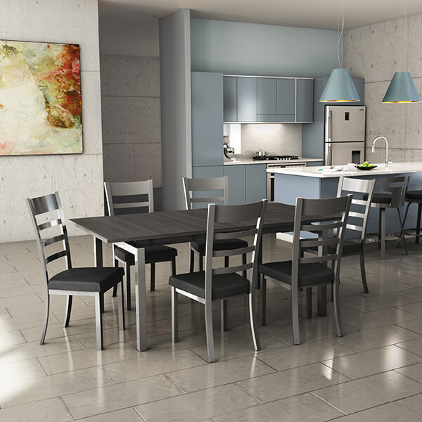 Mixing & Matching Bar Stools and Chairs in Your Kitchen ...