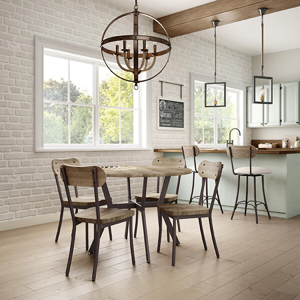 In This Photo: Bean Dining Chairs And Bean Bar Stools