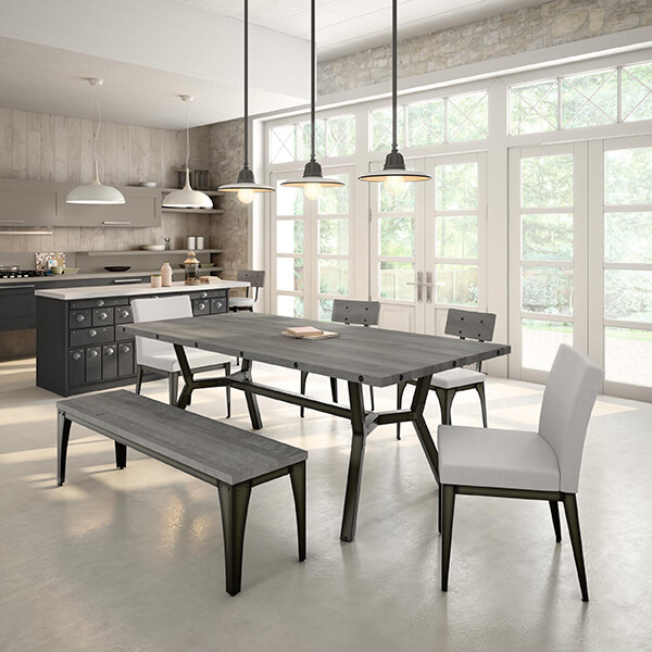 In This Photo: Pablo Dining Chairs And Architect Dining Chairs