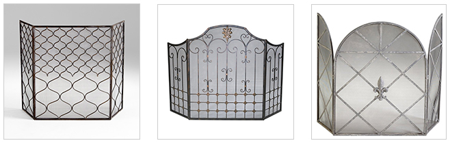 Fireplace Iron Screens