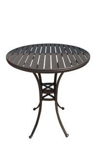 Outdoor Aluminum Pub Table