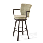 The Cardin Swivel Stool by Amisco