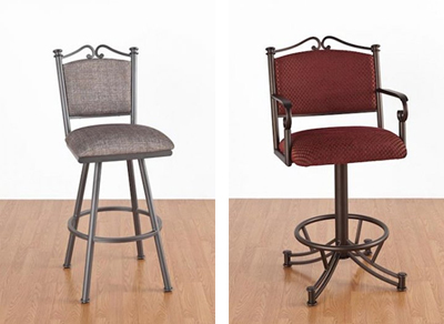 The Sonoma and Sonora Bar Stools