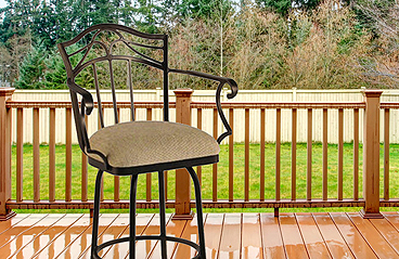 Real Outdoor Stools
