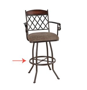 Bar Stools for Toddlers Footrests