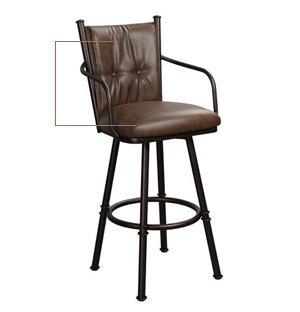 Bar Stools for Toddlers Padded Backs and Padded Seats