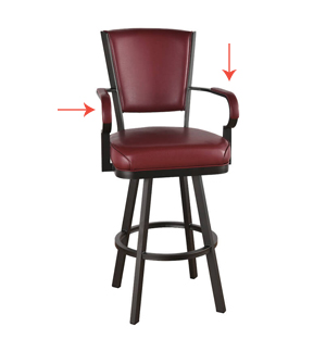 Bar Stools for Toddlers with Arms