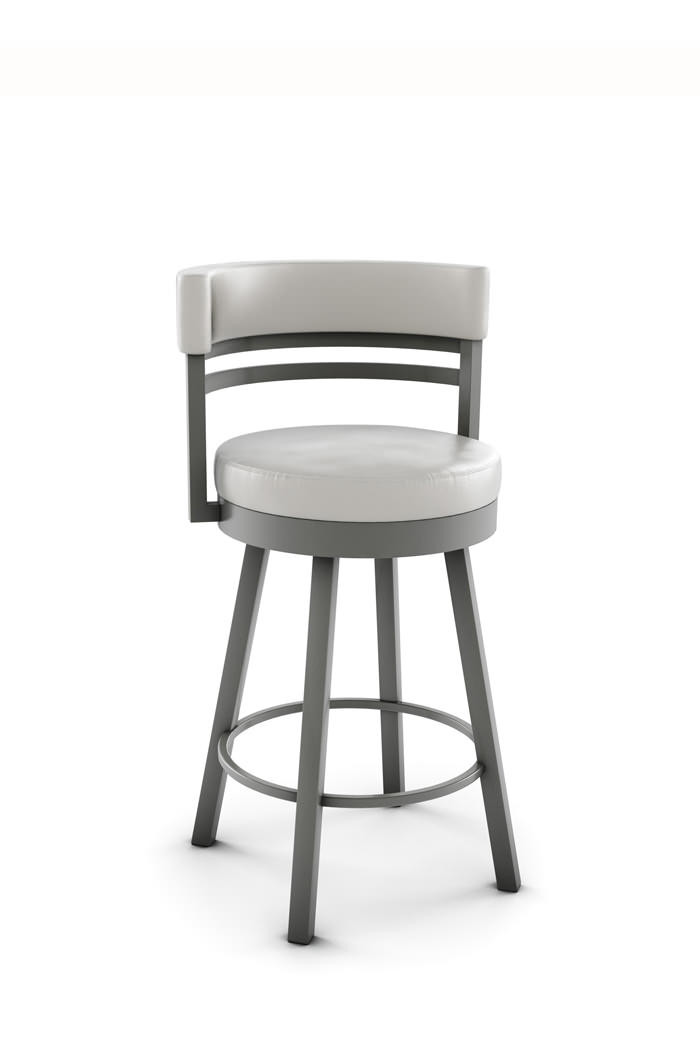 Ronny Swivel Stool with Low Back