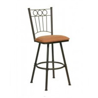 Backs with Rings Bar Stools