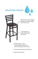 Benefits of the Jackie Outdoor Stool