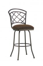 Callee Baldwin Swivel Stool with Tall Back