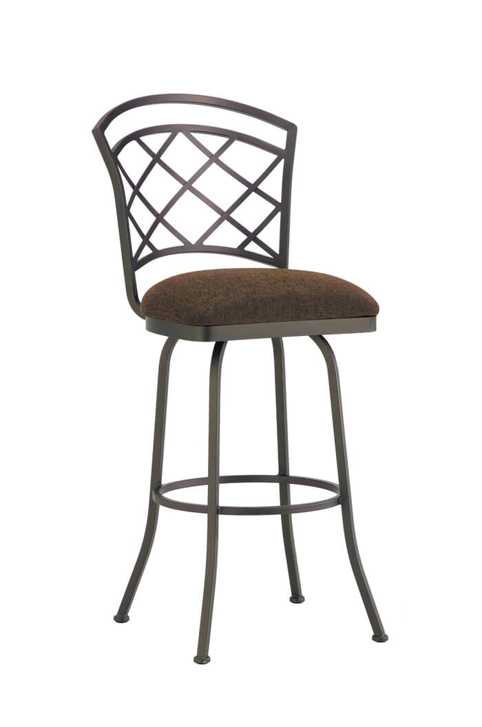 Buy Callee S Baldwin Lattice Back Swivel Bar Stool Free