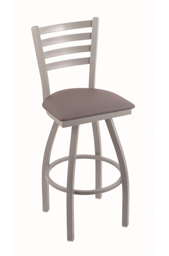 Holland Jackie Swivel Stool with Ladder Back Design