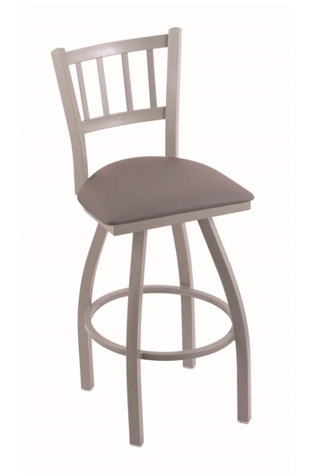 Holland Contessa Swivel Stool with Mission Back Design