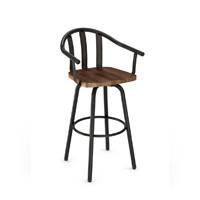 Metal with Wood Bar Stools