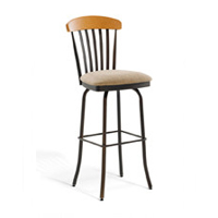 Mission/Slat Back Bar Stools