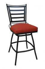 Tobias Designs Jenna Armless Outdoor Swivel Stool