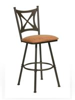 Cross Back and X Back Bar Stools
