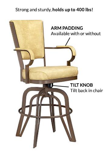 Tilt Swivel Barstool Benefits Lisa Furniture S 2545 Stools