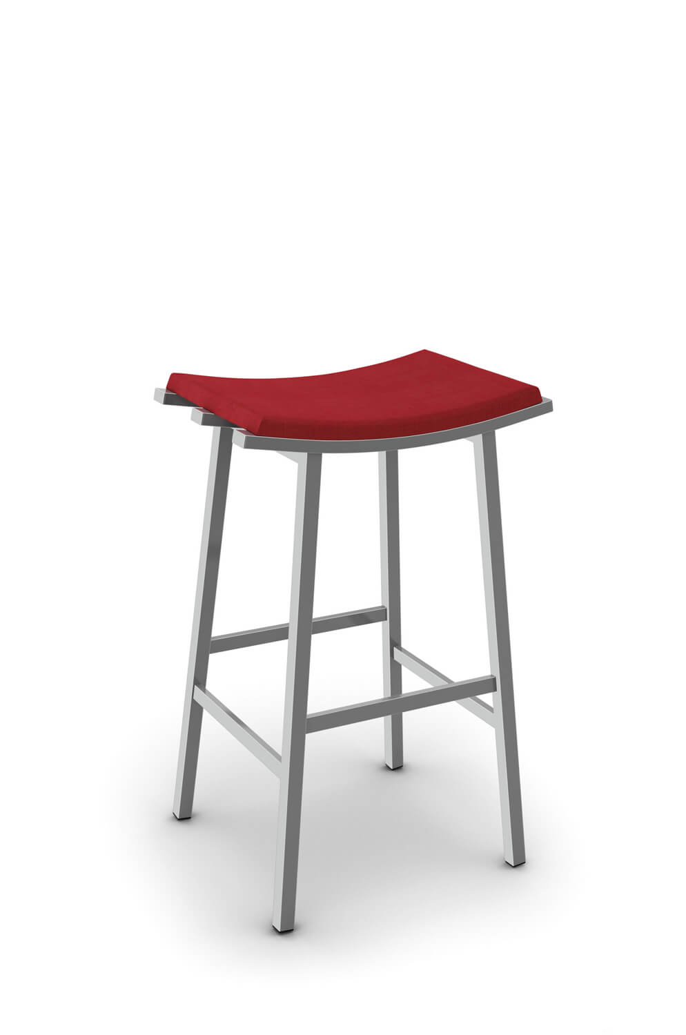 Buy Amisco Nathan Modern Saddle Bar Stools Barstool