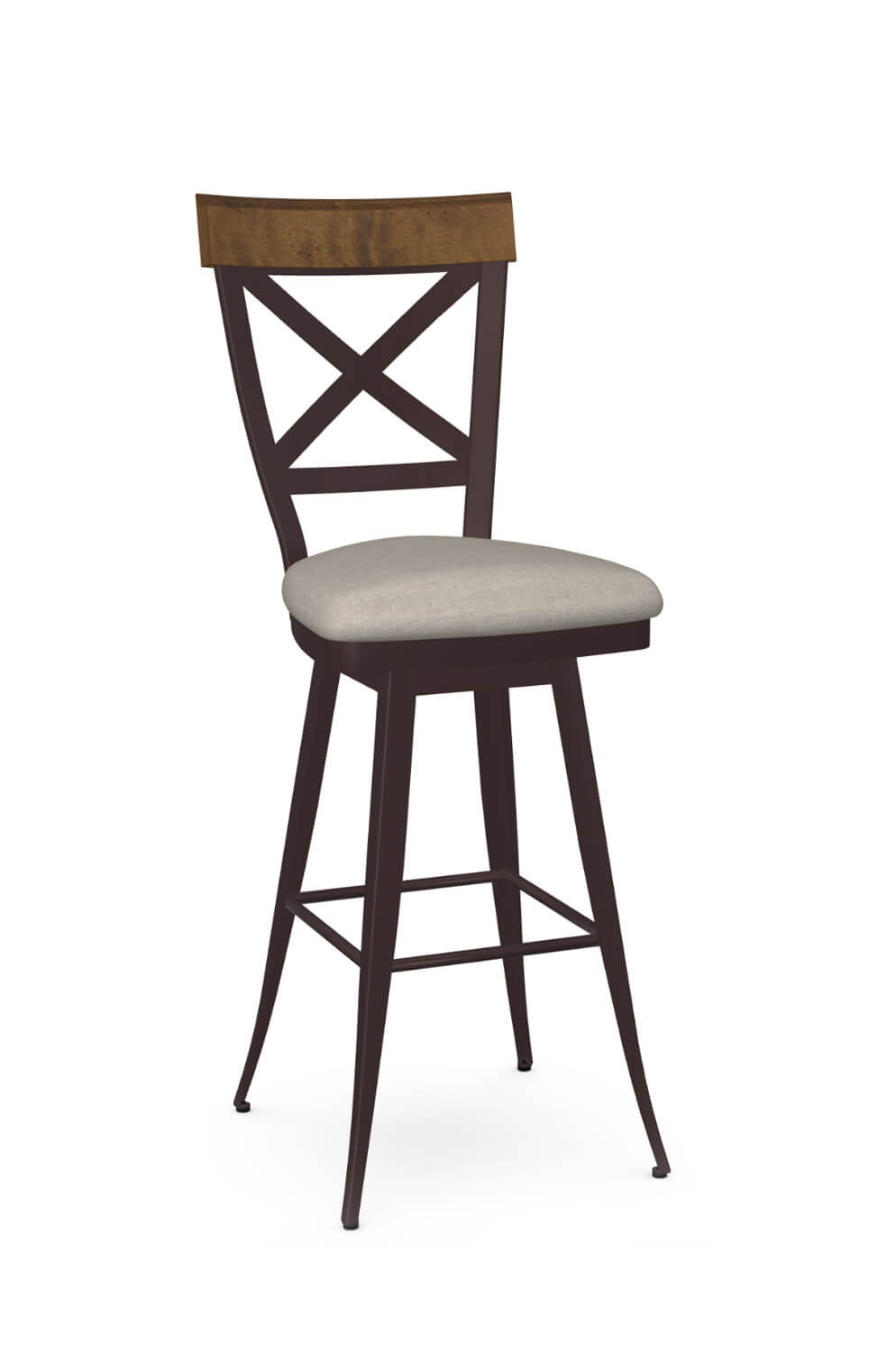 Kyle Swivel Stool with Back