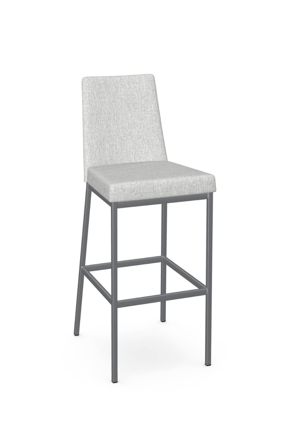 Amisco Linea Modern Stool W Padded Seat And Back Free Shipping
