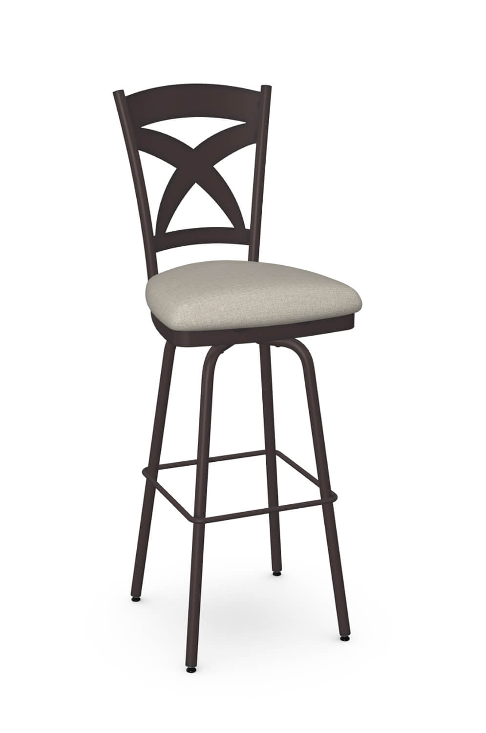 Marcus Swivel Stool with Back