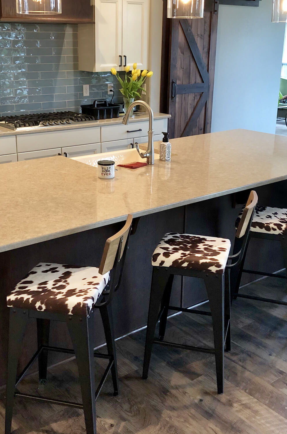 Counter Height Bar Stools With Back Wood