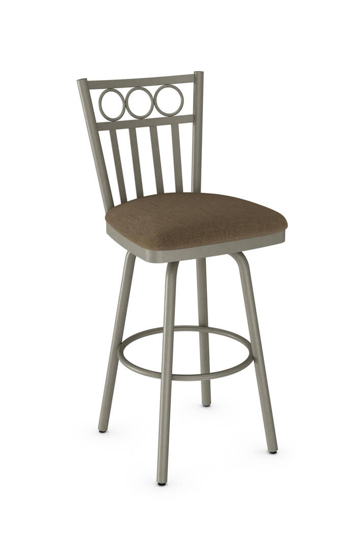 Amisco Momentum Swivel Stool for Traditional Kitchens