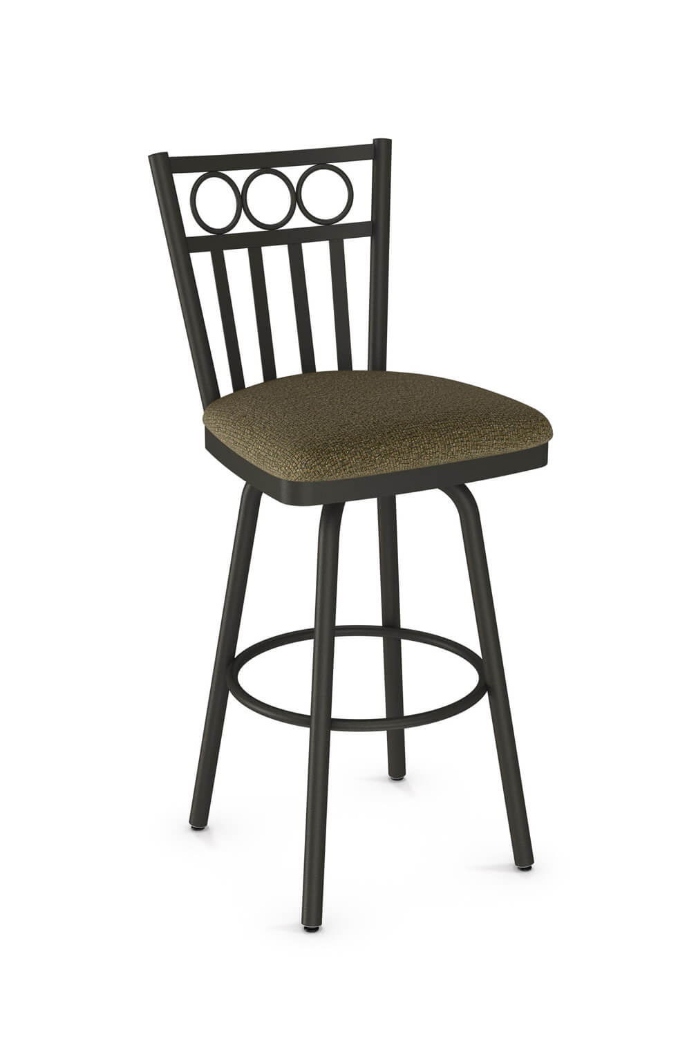 Amisco Momentum Country Traditional Swivel Stool Free